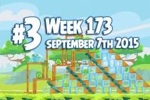 Angry Birds Friends 2015 Tournament Level 3 Week 173 Walkthrough