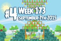 Angry Birds Friends 2015 Tournament Level 4 Week 173 Walkthrough