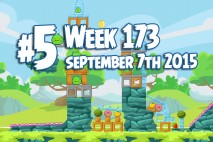 Angry Birds Friends 2015 Tournament Level 5 Week 173 Walkthrough