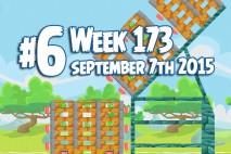 Angry Birds Friends 2015 Tournament Level 6 Week 173 Walkthrough