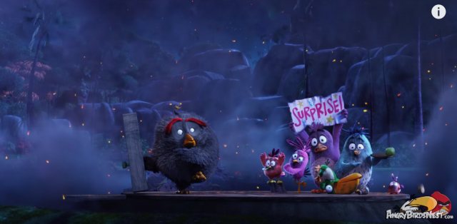 Angry Birds Moive First Teaser Trailer Bomb Explodes