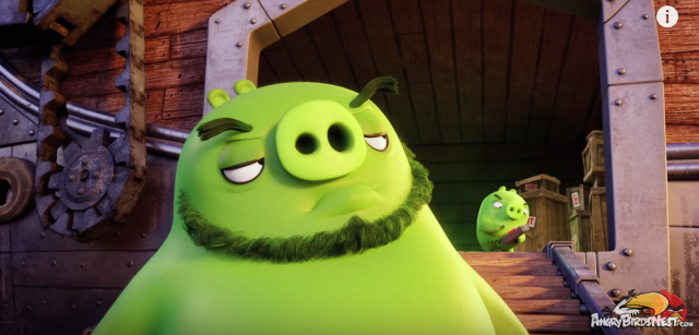 Angry Birds Moive First Teaser Trailer Greetings I am a Pig