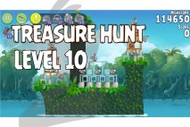 Angry Birds Rio Treasure Hunt Walkthrough Level #10