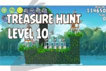 Angry Birds Rio Treasure Hunt Walkthrough Level #10