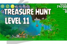 Angry Birds Rio Treasure Hunt Walkthrough Level #11