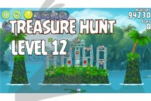 Angry Birds Rio Treasure Hunt Walkthrough Level #12