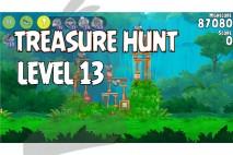 Angry Birds Rio Treasure Hunt Walkthrough Level #13