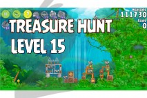 Angry Birds Rio Treasure Hunt Walkthrough Level #15