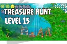 Angry Birds Rio Treasure Hunt Walkthrough Level #15