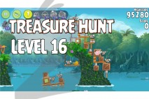 Angry Birds Rio Treasure Hunt Walkthrough Level #16