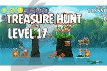Angry Birds Rio Treasure Hunt Walkthrough Level #17