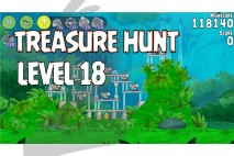 Angry Birds Rio Treasure Hunt Walkthrough Level #18