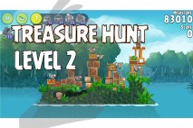 Angry Birds Rio Treasure Hunt Walkthrough Level #2