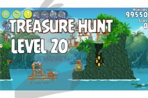 Angry Birds Rio Treasure Hunt Walkthrough Level #20