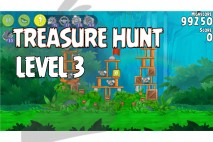 Angry Birds Rio Treasure Hunt Walkthrough Level #3