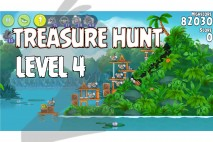 Angry Birds Rio Treasure Hunt Walkthrough Level #4