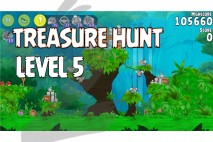 Angry Birds Rio Treasure Hunt Walkthrough Level #5