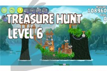Angry Birds Rio Treasure Hunt Walkthrough Level #6