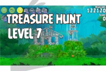 Angry Birds Rio Treasure Hunt Walkthrough Level #7