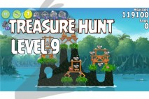 Angry Birds Rio Treasure Hunt Walkthrough Level #9