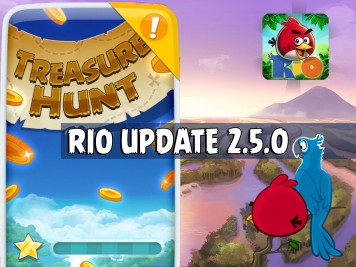 Angry Birds Rio Update Treasure Hunt Feature Image