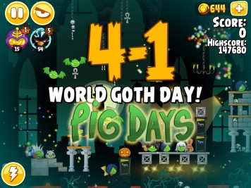 Angry Birds Seasons Pig Days Chapter 4 Level 4-1
