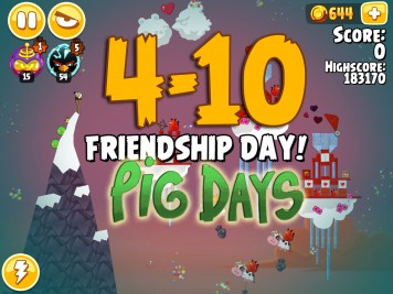 Angry Birds Seasons Pig Days Chapter 4 Level 4-10