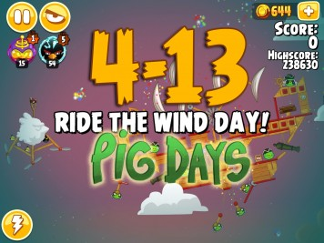 Angry Birds Seasons Pig Days Chapter 4 Level 4-13