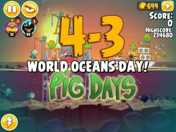 Angry Birds Seasons Pig Days Chapter 4 Level 4-3