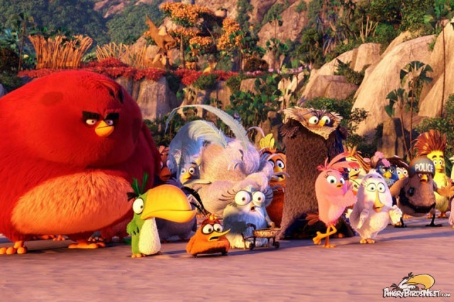 Brand New Angry Birds Movie Images — Pigs Revealed ...