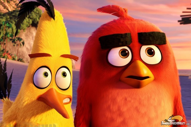 Brand New Angry Birds Movie Images