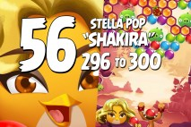 Angry Birds Stella Pop Levels 296 to 300 Love Lagoon Walkthroughs