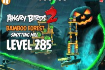 Angry Birds 2 Level 285 Bamboo Forest Snotting Hill 3-Star Walkthrough