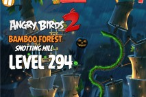Angry Birds 2 Foreman Pig Level 294 Boss Fight Walkthrough – Bamboo Forest Snotting