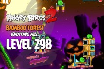 Angry Birds 2 Level 298 Bamboo Forest Snotting Hill 3-Star Walkthrough
