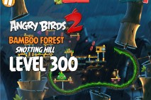 Angry Birds 2 King Pig Level 300 Boss Fight Walkthrough – Bamboo Forest Snotting