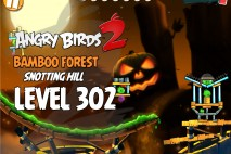 Angry Birds 2 Level 302 Bamboo Forest Snotting Hill 3-Star Walkthrough
