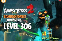 Angry Birds 2 Level 306 Bamboo Forest Snotting Hill 3-Star Walkthrough