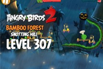 Angry Birds 2 Chef Pig Level 307 Boss Fight Walkthrough – Bamboo Forest Snotting Hill