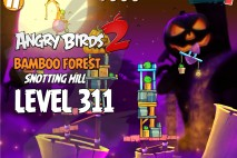 Angry Birds 2 Level 311 Bamboo Forest Snotting Hill 3-Star Walkthrough