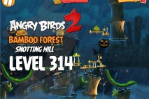 Angry Birds 2 Foreman Level 314 Boss Fight Walkthrough – Bamboo Forest Snotting Hill