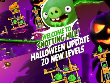 Angry Birds 2 Halloween Snotting Hill Update Featured Image