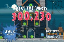Can you 'Best the Nest' in Angry Birds Friends Tournament Week 179 Level 1?
