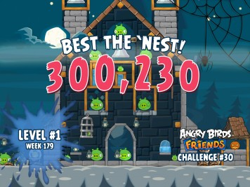 Angry Birds Friends Best the Nest Challenge Week 30