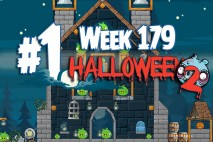 Angry Birds Friends 2015 Halloween Tournament Level 1 Week 179 Walkthrough