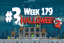 Angry Birds Friends 2015 Halloween Tournament Level 3 Week 179 Walkthrough