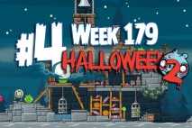 Angry Birds Friends 2015 Halloween Tournament Level 4 Week 179 Walkthrough