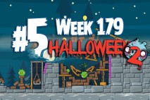 Angry Birds Friends 2015 Halloween Tournament Level 5 Week 179 Walkthrough