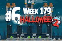 Angry Birds Friends 2015 Halloween Tournament Level 6 Week 179 Walkthrough
