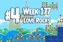 Angry Birds Friends 2015 Love Rocks Tournament Level 4 Week 177 Walkthrough